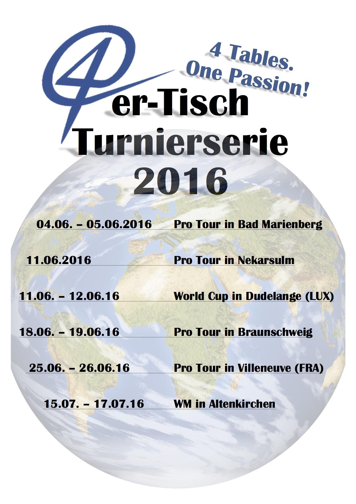 Turnierserie 2016