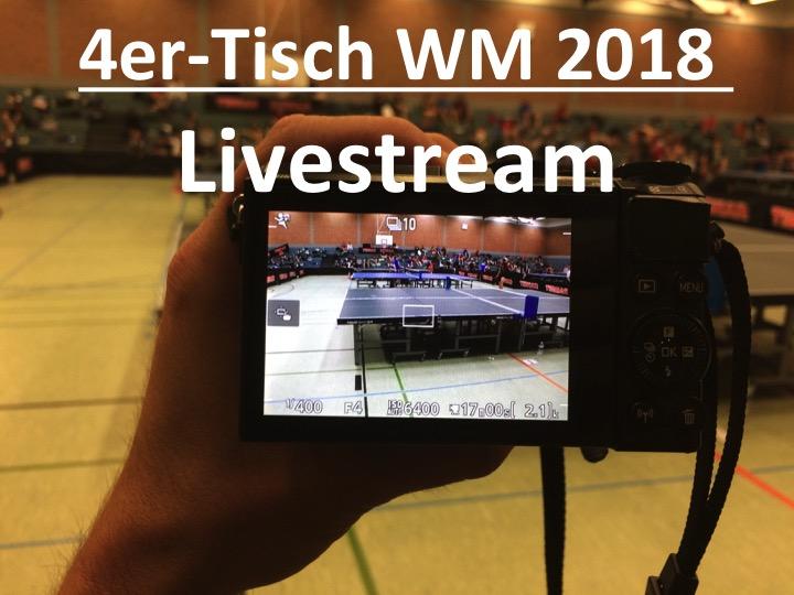4er-Tisch Live Stream